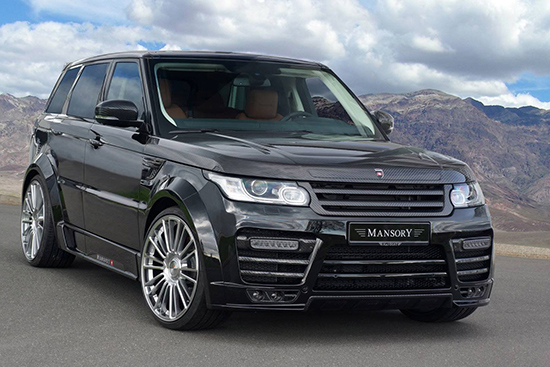 "mansory range rover sport 01 Mansory ""carbon hóa"" cho chiếc  Range Rover Sport 2014"