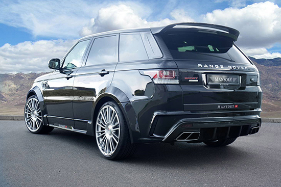 "mansory range rover sport 02 Mansory ""carbon hóa"" cho chiếc  Range Rover Sport 2014"
